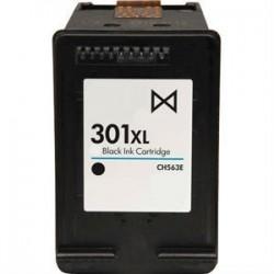 Cartucho remanufacturado Negro HP 301XL, Reemplaza al CH563EE, 18ml de capacidad