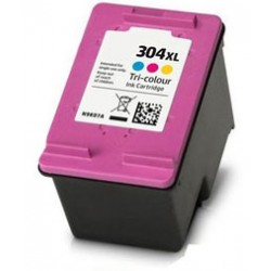HP 304XL Color cartucho remanufacturado, reemplaza al N9K06AE y N9K08AE