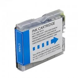 Cartucho sustituto Cyan Brother LC1000C, reemplaza al LC-1000 C