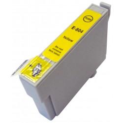 Cartucho sustituto Amarillo EPSON 0804, reemplaza al T0804, 14ml de capacidad
