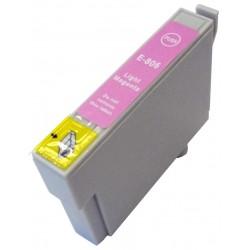 Cartucho sustituto Magenta claro EPSON 0806, reemplaza al T0806, 14ml de capacidad