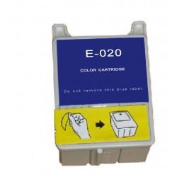 Epson T020 Color cartucho sustituto, reemplaza al T020, 39ml de capacidad