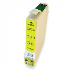 EPSON 1814 Amarillo cartucho sustituto, reemplaza al T1814 y T1804 de alta capacidad 18XL