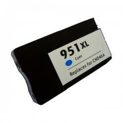 HP 951XL Cyan cartucho remanufacturado, reemplaza al CN046AE, 28ml de capacidad