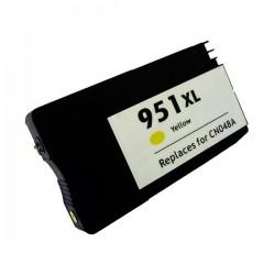 HP 951XL Amarillo cartucho remanufacturado, reemplaza al CN048AE, 28ml de capacidad
