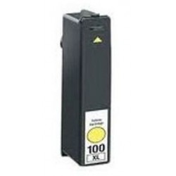 Lexmark 100 XL Amarillo cartucho remanufacturado, reemplaza al Nº 100 XL Y 14N1071