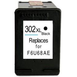 HP 302XL Negro cartucho remanufacturado, reemplaza al F6U68AE